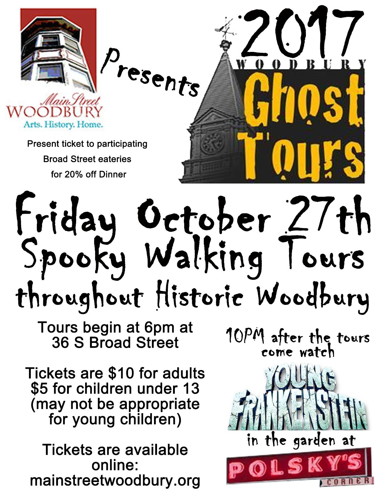 Ghost Tours 2017